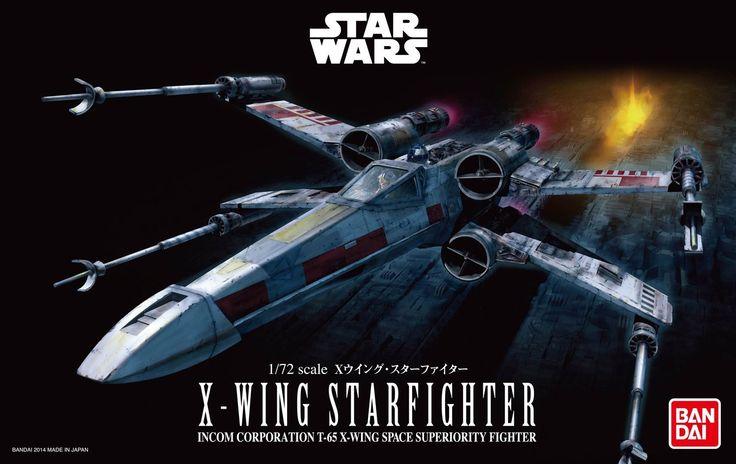 Bandai Hobby Star Wars X-Wing Starfighter 1/72 Scale Model Kit (Pre-Order)