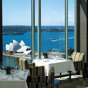 Shangri - La Hotel | Designed Sydney Restaurants with a view