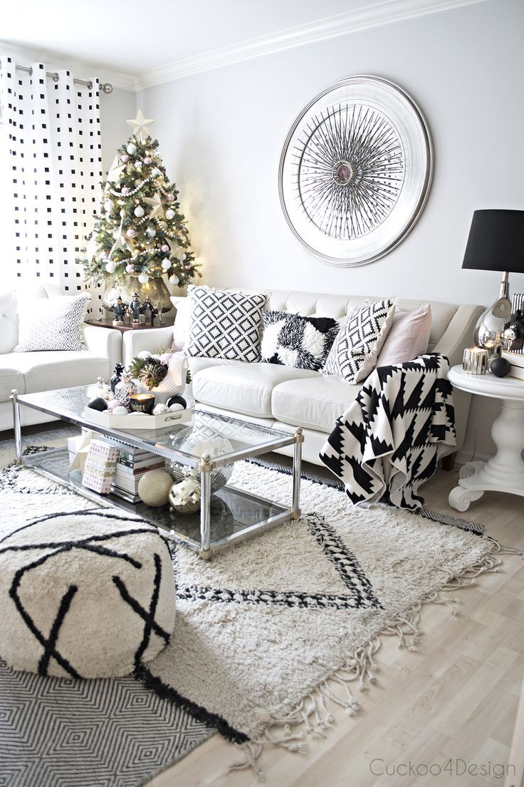 Better Homes and Gardens Christmas Ideas Home Tour | Living rooms ...