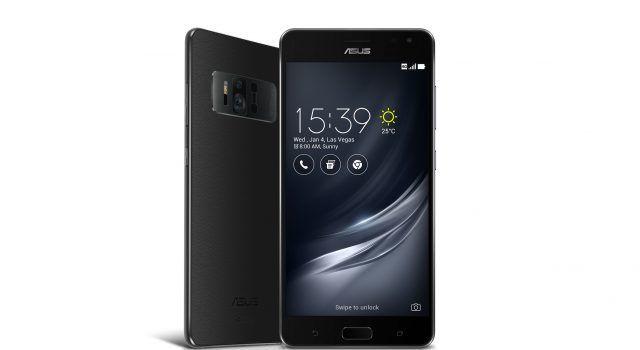 El ASUS ZenPhone AR propone un sistema de tres cámara para la realidad aumentada