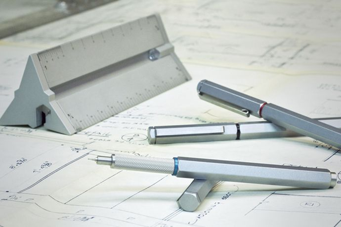 Apollo Technical Pen and Drafting Scale   Man of Many .... as an ex-Cartographer this speaks to me