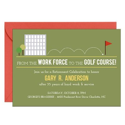 golf course thesis