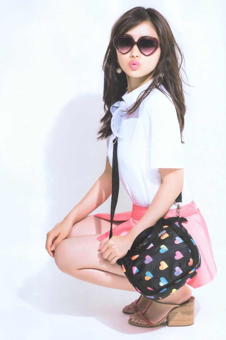 licoricewall: 石原さとみ (Satomi Ishihara): sweet magazine / LeSportsac 石原さとみ