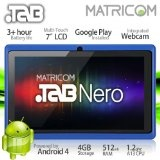 "7"" Matricom .TAB Nero Tablet PC - Android 4 Capacitive Multi-Touch 4GB (Blue)"