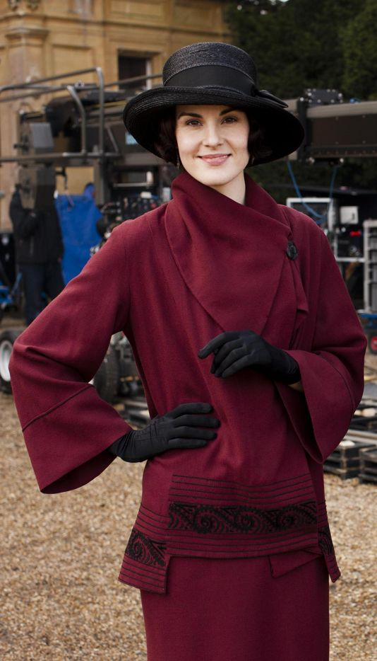 """Lady Mary's"" costume~season 3 of Downton Abbey (Masterpiece/ Carnival Films/PBS), 2012."