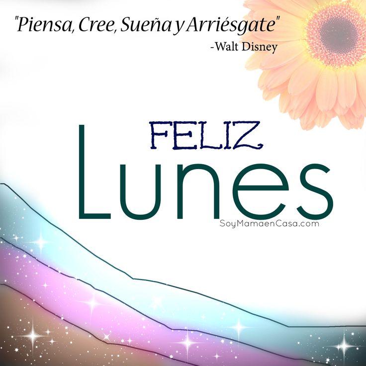 Hola ! Feliz #Lunes #Monday  http://soymamaencasa.com