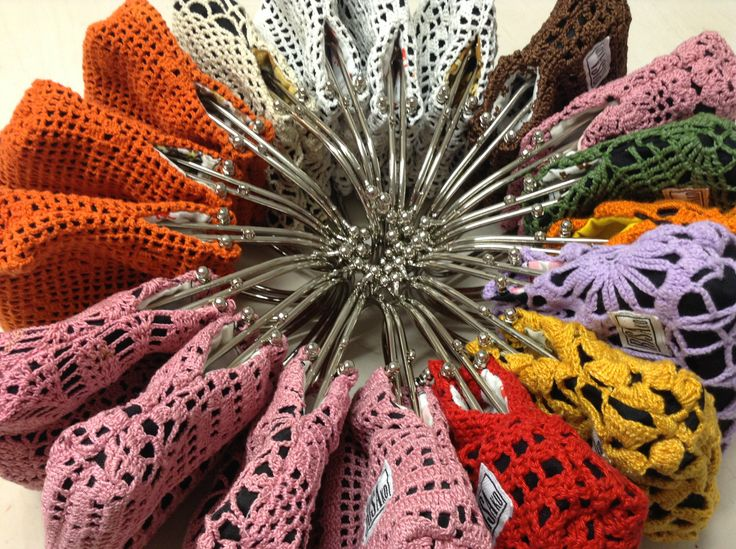 Mini handbags/purses by Risako.
