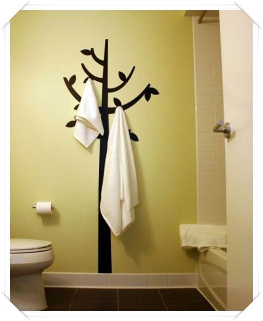 Oltre 1000 idee su portasciugamani da bagno su pinterest - Creare un bagno ...