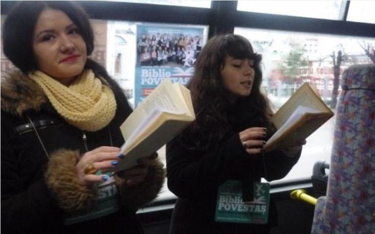 A fost odată ca niciodată în Vrancea un autobuz cu BiblioPovestaşi