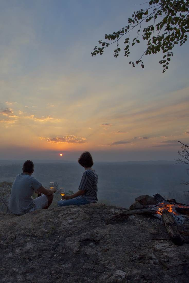 Enjoy a sundowner at Kubatana Camp Gorongosa