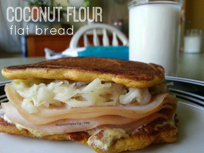Easy, delicious bread perfect for sandwiches! #THM S #glutenfree