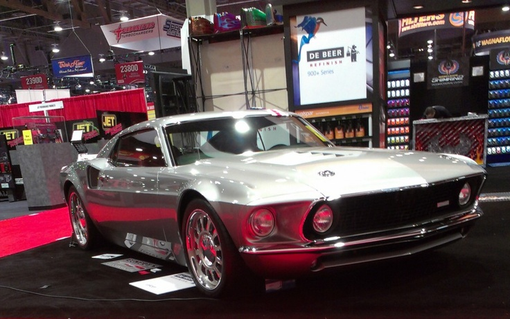 Ford Mustang Mach Forty as seen at SEMA 2012
