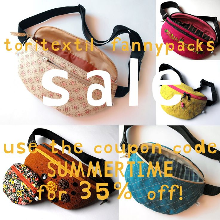 toritextil fannypacks are on sale! click on the image to look around in our etsy-shop! #etsy #toritextil #etsyuk #etsyhungary #etsyshop #fannypack #bumbag #hipbag #festivalbag #summersale