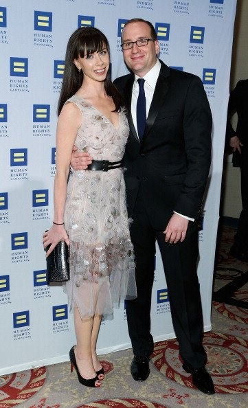 With Chad Griffin from Human Rights Campaign (2013) - via http://www.hrc.org/
