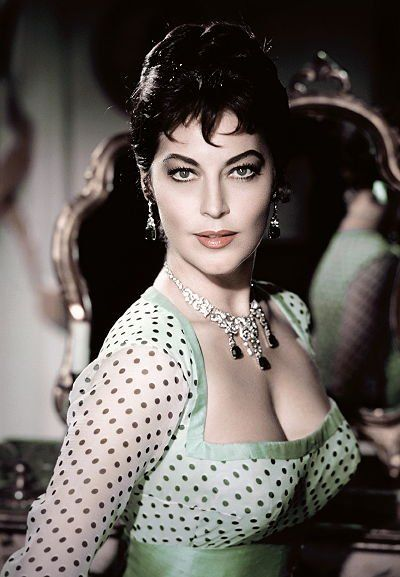 AVA GARDNER at 37 in The Naked Maja, 1959