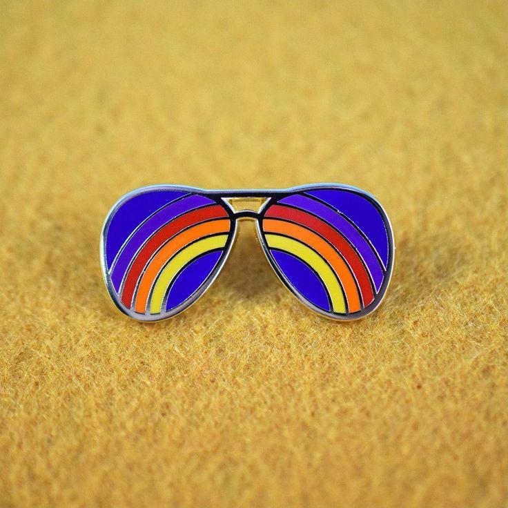 Rainbow Shades Pin By Circa 78 Designs