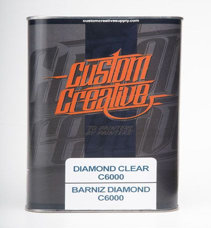 Kit Barniz Brillo Diamon Clear C6000. Custom Creative