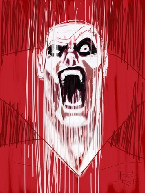 Deadman iPad Sketch by Rod Reis