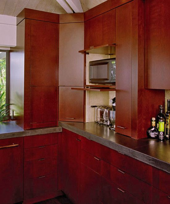 Kitchen Appliance Garage Kitchen Cabinets Design, Pictures, Remodel, Decor and Ideas - page 2