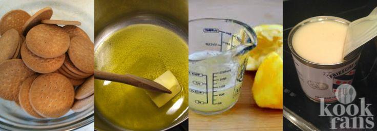Deze citroentaart is binnen 1 minuut klaar én hoef je niet te bakken! Dit moet…