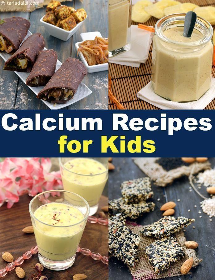 Kids Calcium Rich Recipes, Indian Calcium recipes for Kids