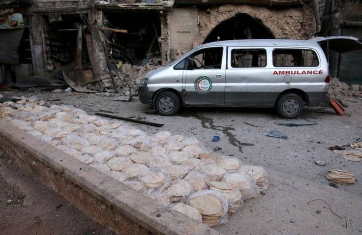 Syria's east Aleppo has no anaesthetists few intensive care... - Thomson Reuters Foundation