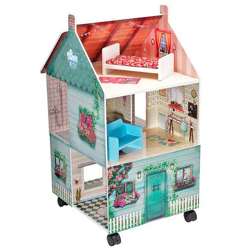 Casa de muñecas con ruedas Amanda Mobile House