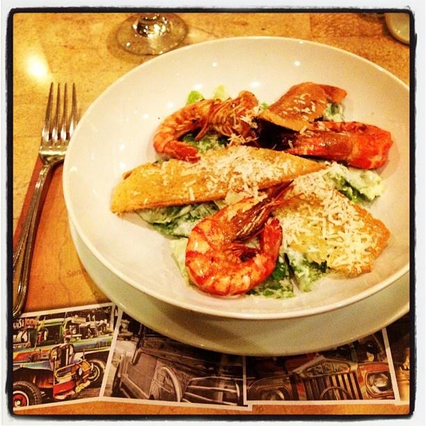 "@alexzhdanov's photo: ""Caesar salat #Manila #intercontinental #dinner"""