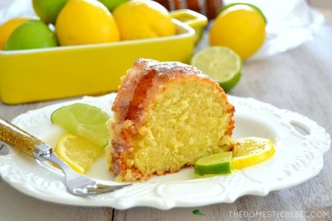 This buttery, zesty 7-Up Pound Cake is AMAZING! Bursting with juicy lemon and lime flavor, the soda gives this cake such a moist and tender crumb and a wonderful crisp crust. Incredible!