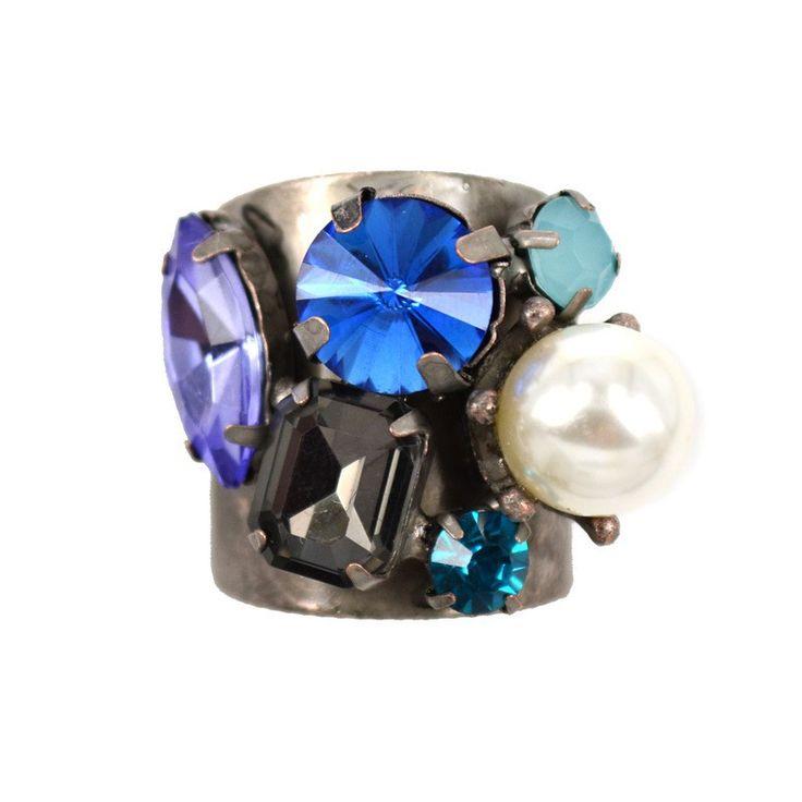 Dc01 3 старинные кольца для женщин 2015 новый кристалл и перл высокое качество элегантный палец кольцо сплав металла цинка кольца для подростков девочек, принадлежащий категории Кольца и относящийся к Ювелирные изделия на сайте AliExpress.com   Alibaba Group