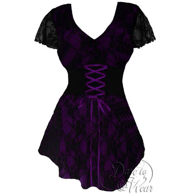 DTW Sweetheart tunika *Purple (XL-3XL)