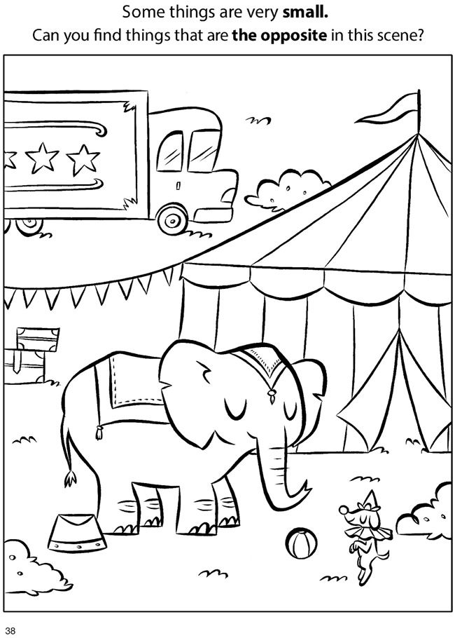 Dover Free Worksheets : Operation game coloring pages