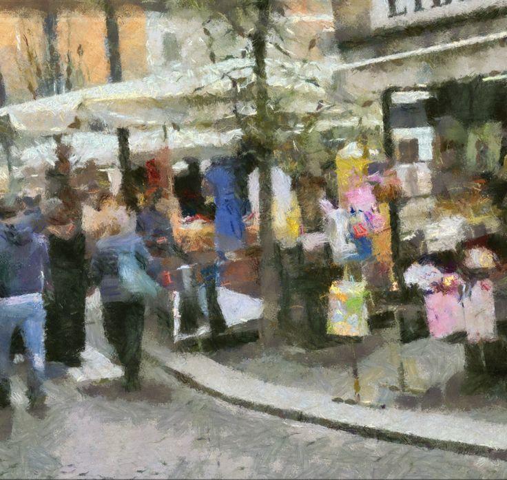 Vista d'insieme stile Monet