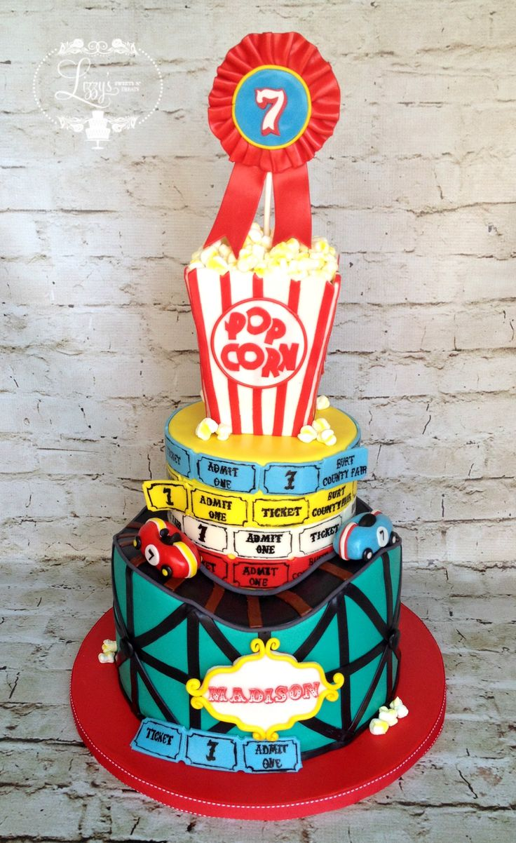Roller coaster cake Created for Maddycakes Muse