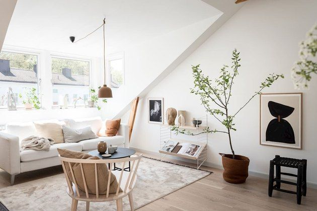 6 Attic Living Room Ideas That Will Motivate You To Get Rid Of Unnecessary Clutter Hunker In 2020 Attic Living Rooms Loft Spaces Attic Apartment