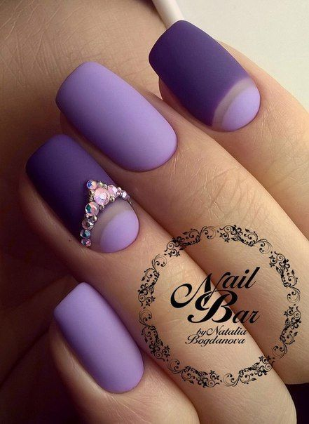 The 25 best purple nail designs ideas on pinterest fun nails matte nailspurple nailssns nailspurple nail designsnail art designsnails designsquare prinsesfo Choice Image