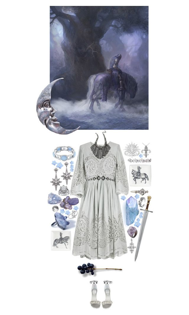 """Sleepy knight"" by anya-moscow ❤ liked on Polyvore featuring Journee Collection, Cartier, STELLA McCARTNEY, Lanvin, DANNIJO, Givenchy, Federica Rettore, 1928, Decadorn and Ben-Amun"