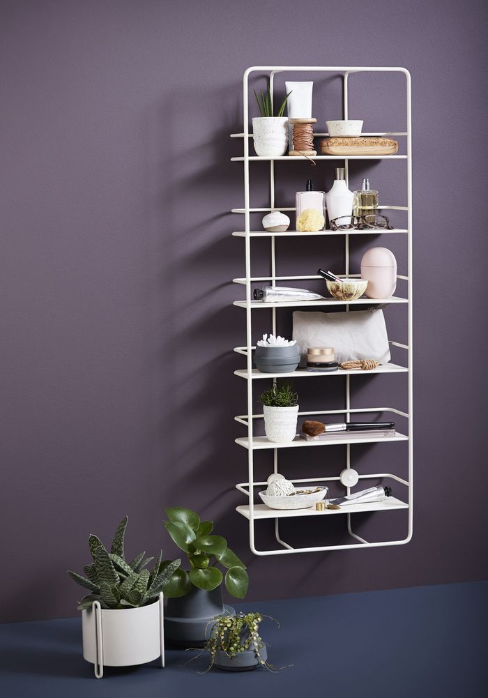 Woud's Coupé shelf, designed by Poiat