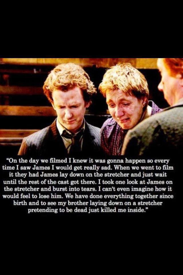 The Weasley twins.   They will always be my boys. <3