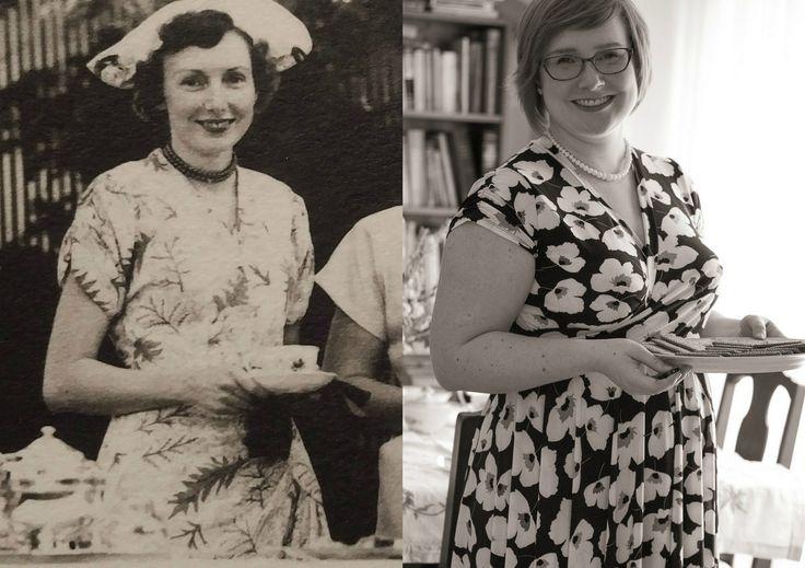 Dress Like Your Grandma - by Gillian at https://craftingarainbow.wordpress.com/2017/04/22/dress-like-your-grandma/