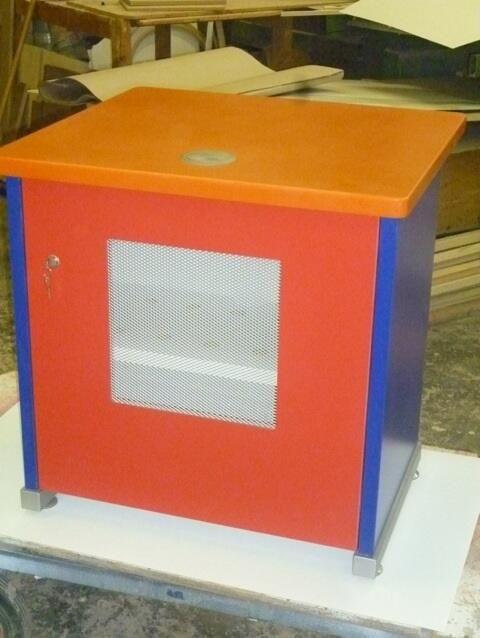 Kidszone Coloured Desks for BAA Heathrow