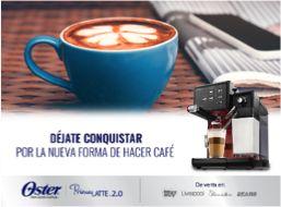 ¿Cuál es tu combinación favorita? Prepara el café a tu manera, espresso, latte o cappuccino con la leche de tu preferencia.