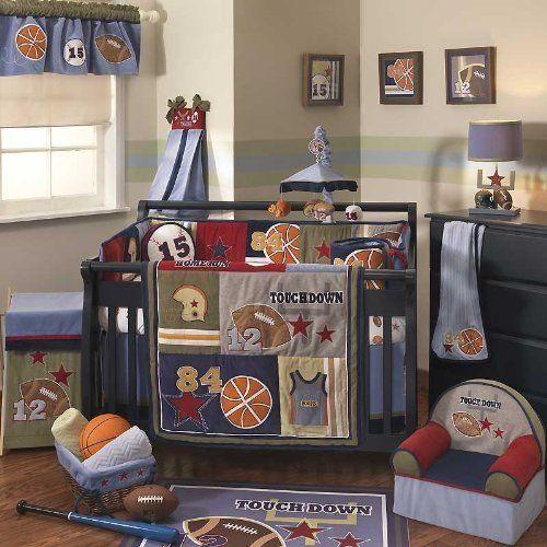 Sports Baby Boy Nursery Ideas: Sports Themed Baby Nursery Decor