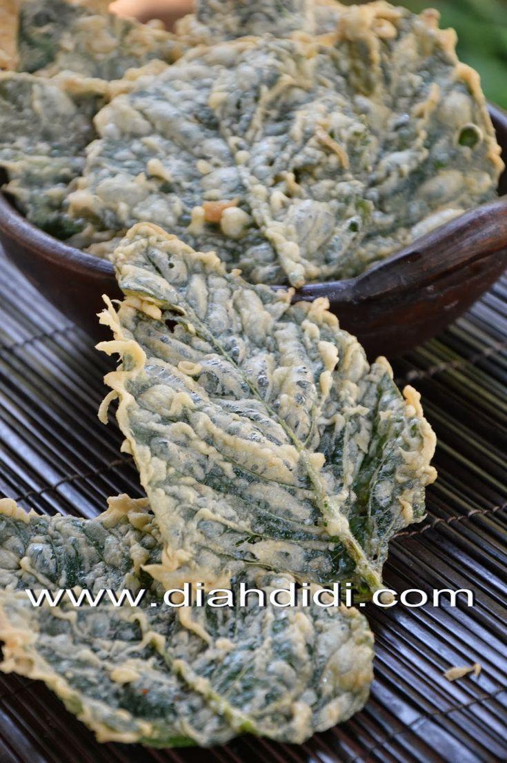 Diah Didi's Kitchen: Peyek Bayam