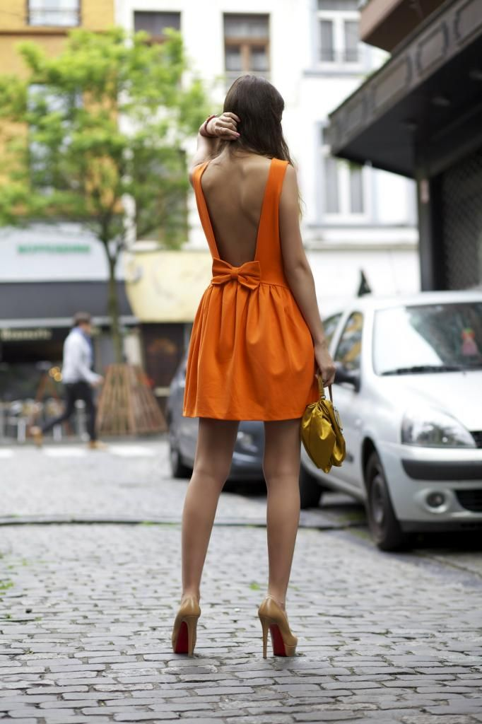 Red Valentino dress #bow