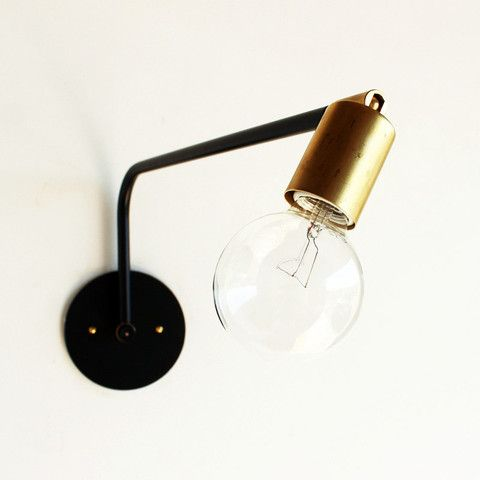 Hard-wired swing-arm lamp - onefortythree
