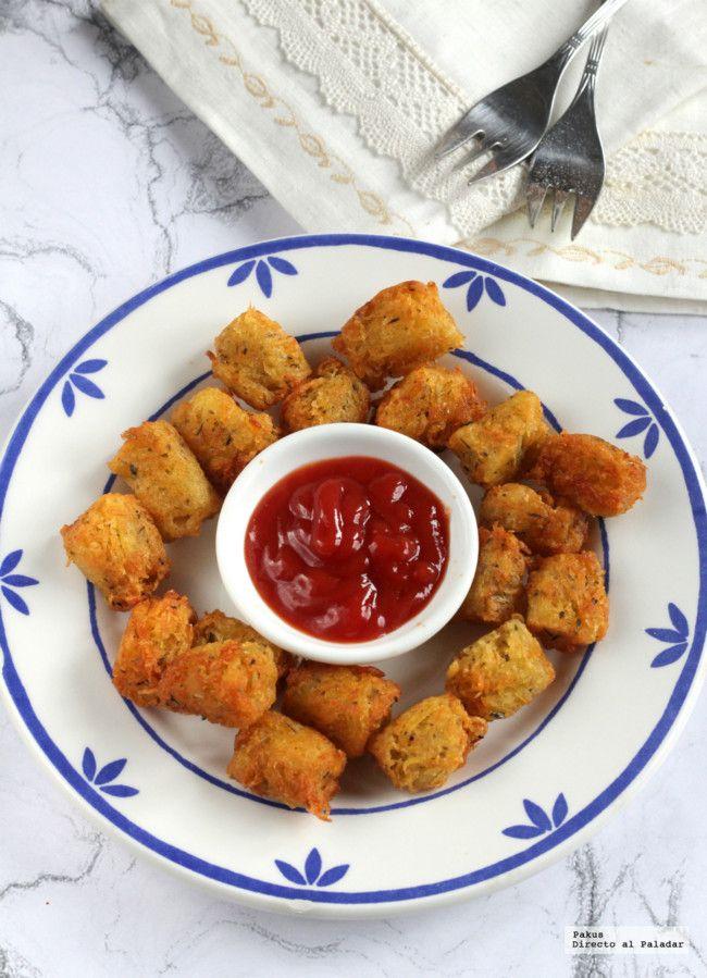Cómo se hacen los Tater tots, la guarnición de patatas preferida en USA y el Reino Unido