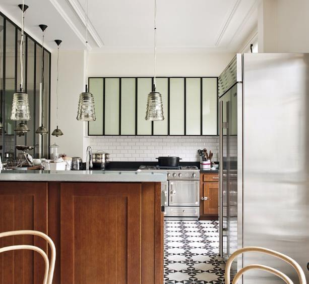 m lange des styles en cuisine projet m m 2017 lacoste pinterest en cuisine melange et. Black Bedroom Furniture Sets. Home Design Ideas