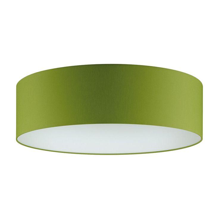 EEK A+, Deckenleuchte 3-flg. Grün 60 cm rund - SHINE-LOFT, Fischer Leuchten