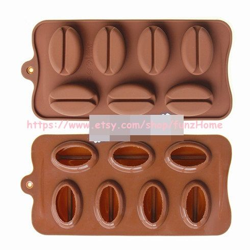 Hey, I found this really awesome Etsy listing at https://www.etsy.com/listing/176378088/3d-coffee-bean-shape-chocolate-silicone